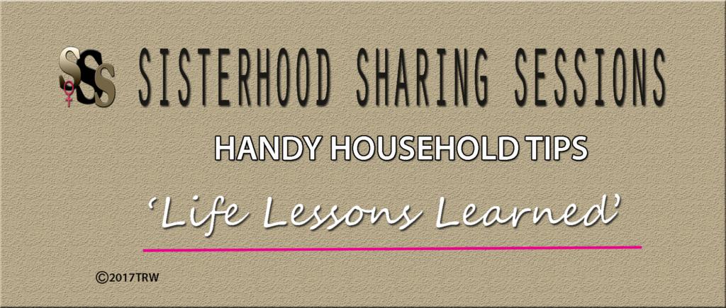 Power Of Women | Sisterhood Sessions | Handy Household Tips