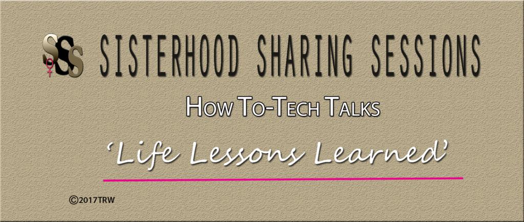 Power Of Women | Sisterhood Sessions | How To-Tech Talks