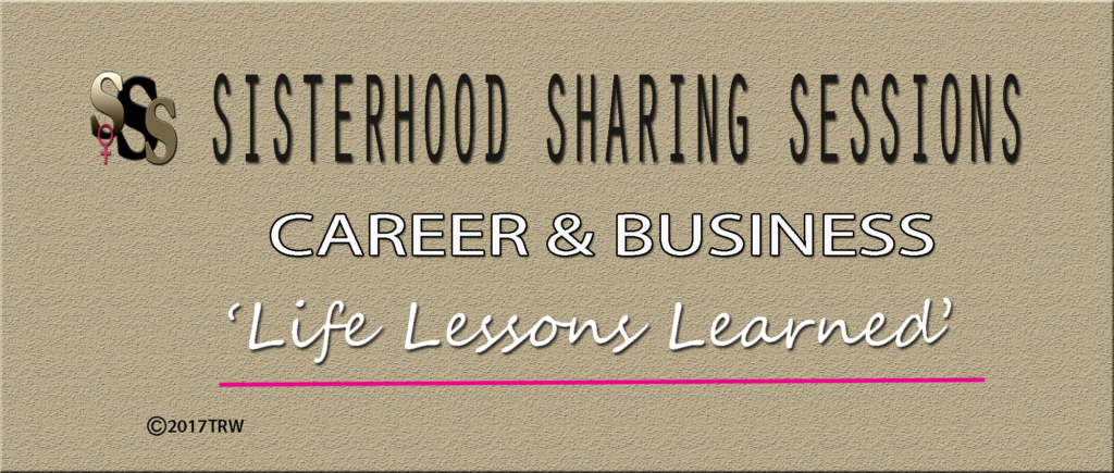 Sisterhood Sharing Sessions | Career-Business | Category